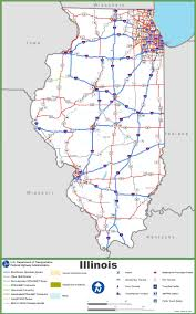 Map Of Illinois And Indiana by Illinois State Maps Usa Maps Of Illinois Il