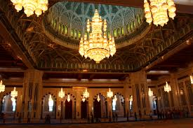 Sultan Qaboos Grand Mosque Chandelier Day 9 U2013 Sultan Qaboos Grand Mosque And Al Alam Palace Abroad