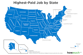 10 Highest Paid Jobs You These Are The Highest And Lowest Paying Jobs In Every State