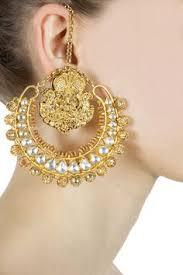 lotan earrings kundan maang tikka http socioeconomicpakistan 2013