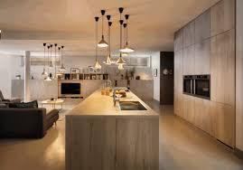 cuisine scandinave un plan de travail en bois stratifié pour une cuisine scandinave