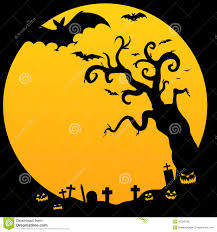 halloween spooky tree royalty free stock photos image 16358748