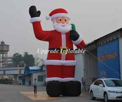 Inflatable Christmas Decorations Outdoor Cheap - compare prices on outdoor inflatable santa online shopping buy