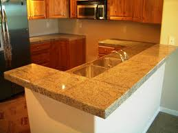 kitchen granite countertop ideas 10 glossy tiled kitchen countertops rilane