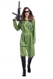 top gun jumpsuit top gun costume jumpsuit army fancy