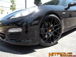 Porsche Panamera Blacked Out - avant garde m310s installed on a panamera 6speedonline porsche