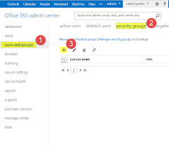 office 365 security groups crm access powerobjects