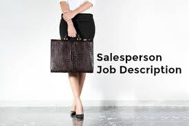 Example Of An Objective In A Resume by Sample Salesperson Job Description