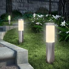 V Landscape Lights - led solar bollard lights lighting artika