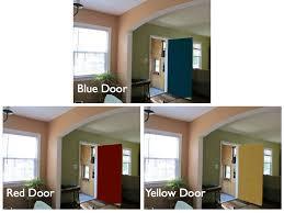 riding escalators red door blue door front door screen door