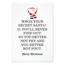 secret santa poems clever sayings gift ideas pinterest