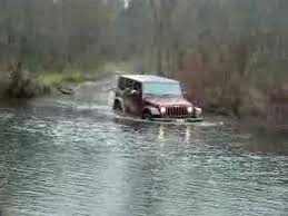 water jeep jeep wrangler unlimited crossing water