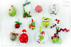 grinch tree ornaments how to make a who ville tree grinch holidays