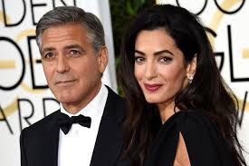 is amal clooney hair one length george clooney has a problem and it s amal new york post