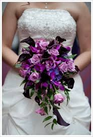 Violet Wedding Flowers - innovative purple wedding flower arrangements purple wedding