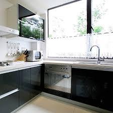 selbstklebende folie k che kinlo folie küche schwarz 61x500cm aus hochwertigem pvc material