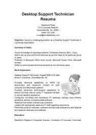 desktop support resume desktop support engineer resume sle top 8 desktop support