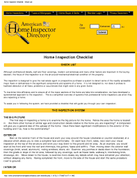 home inspection checklist printable templates to fill out