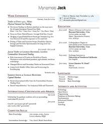 latex resume template computer it resume templates resume formt