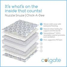 Colgate Crib Mattresses Colgate Nuzzle Snuze A Crib Mattress