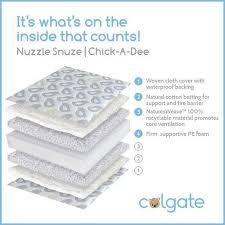Colgate Crib Mattresses Colgate Nuzzle Snuze A Crib Mattress