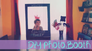 Mickey Mouse Photo Booth Diy Birthday Party Photo Booth Part 1 Tangled Addition Youtube