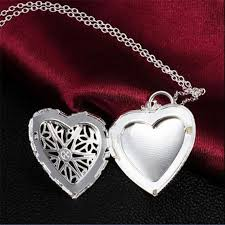 love heart chain necklace images 2015 fashion brand new vogue 925 sterling silver necklace pendant jpg