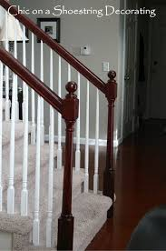 How To Stain Wood Banister 115 Best Stairs Ideas U0026 Tutorials Images On Pinterest Stairs