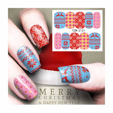 popular christmas nail stickers buy cheap christmas nail stickers