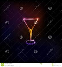 martini glass logo cocktail party glass design logo stock vector image 50513092