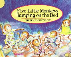 No More Monkeys Jumping On The Bed Song Speech Sprouts Best Ever Books For Preschool Speech Therapy Five