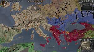 World Religions Map by 769 Religious Map Schism In Place Zunist Paradox Interactive