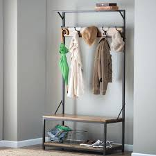 coat storage rack wall mounted coat rack with storage white coat