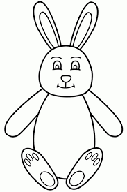 trendy easter bunny coloring pages easter bunny coloring pages