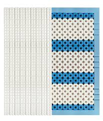 materasso dorsal zefiro 108 basic materasso anatomico con 108 tubes皰 trio cell