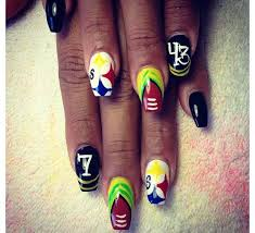 24 best steelers nail designs images on pinterest pittsburgh