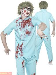 Halloween Costume Doctor Adults Zombie Dentist Costume Mens Dr Halloween Fancy Dress Doctor
