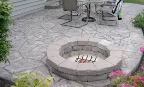 Concrete Patio Designs Sted Concrete Patios Here S A Gray Sted Concrete Pati
