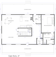 free cottage floor plans homepeek