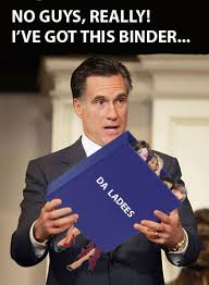 Binders Full Of Women Meme - photos mitt romney s binders full of women goes viral