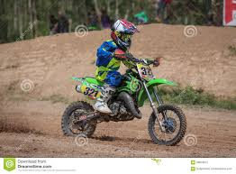 junior motocross bikes kids motocross fuse racing thailand 2015 editorial photography