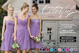 bridesmaid dress shops wisteria bridesmaids dresses from david s bridal shop all