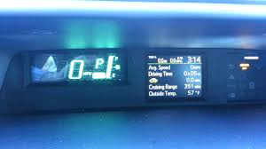 toyota prius c how to change speedometer mph to km youtube