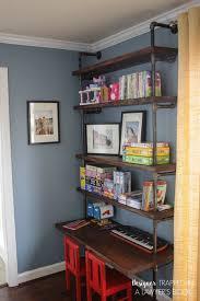 Desk And Bookshelves by Diy Pipe Bookshelves And Desks Hometalk