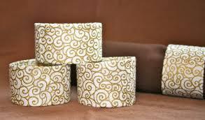diy toilet paper roll napkin rings the bright ideas blog