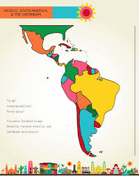 map of south america and mexico draw mexico central south america artk12