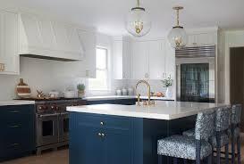 navy blue kitchen cabinets with brass hardware navy blue kitchen island with antique brass knobs