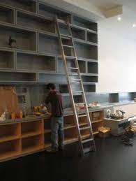 Bookcase Ladder Hardware 10 U0027 Rockler Vintage Rolling Library Ladder Wood Kits Library