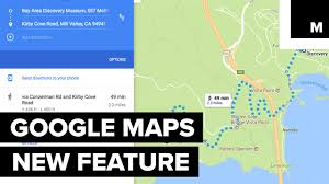 Google Maps Walking Directions Google Maps New Elevation Feature Youtube