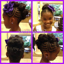 ponytail hairstyles for black girls cute little ponytail